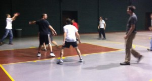 YA- basketball pick up game