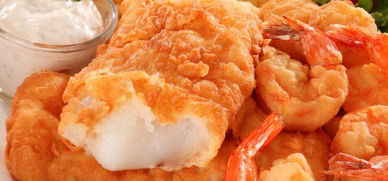 St john vianney catholic church lenten dinner fried for Fried fish and shrimp